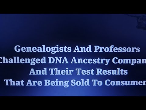 My analysis on DNA testing And Genealogy