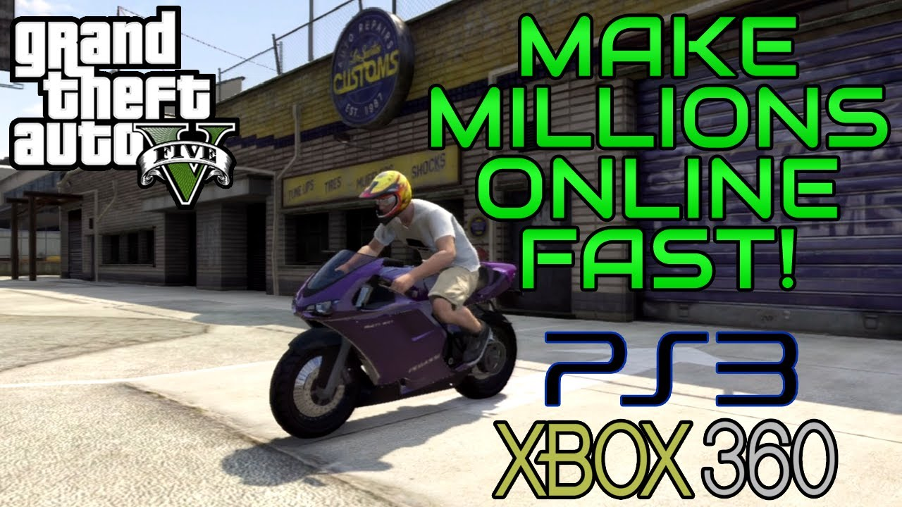 Gta  Online How To Make Millions Fast Works On Ps Gta Online Unlimited Money Glitch Youtube