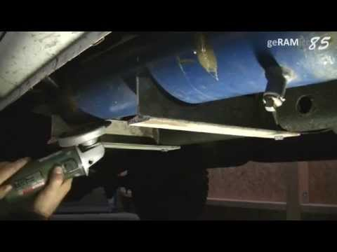 HOW TO BUILD CUSTOM AIR TANK+CAR INSTALL STORAGE BOTTLE ONBOARD | PICK UP TRUCK VIAIR COMPRESSOR KIT