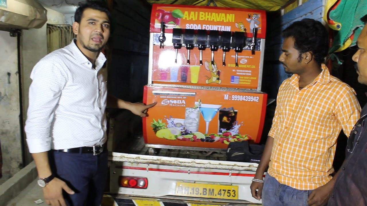 Soda Machine In Mahindra Jeeto Mobail Soda Machine Fountain Soda Machine