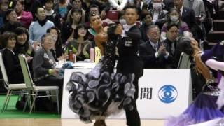 Quarter final. Tango. Sota Fujii and Ami Yoshikawa (Japan), both of...