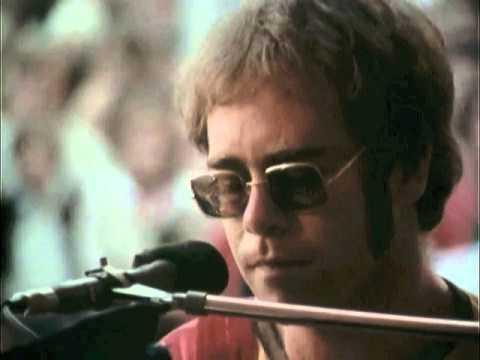 Elton John - Documentary in Stockholm, Sweden at the Gröna Lund amusement park (July 8, 1971)