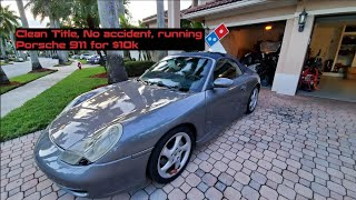 I got the cheapest 2001 Porsche 911 Carrera 4 (996) for $10,000 in the USA!