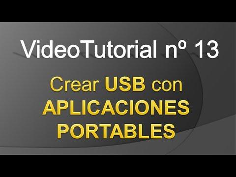 TPI - Videotutorial nº 13 - Como crear un USB de aplicaciones portables
