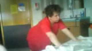 My poor mum in labour