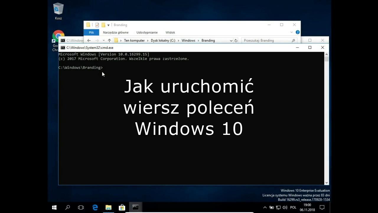 Jak Uruchomić Wiersz Poleceń Windows 10