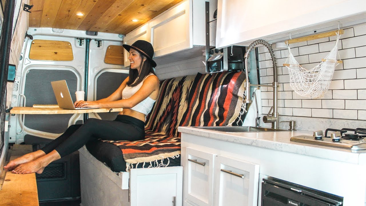 How To Convert A Van Into An Off Grid Camper In 30 Days