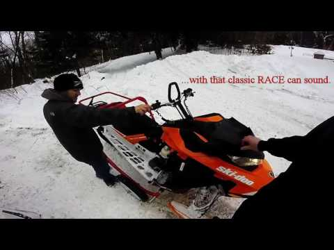 SKIDOO 850 JAWS RACE CAN SOUND DEMO