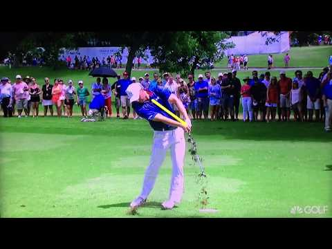 Jordan Spieth - Iron Swing Super Slow Motion