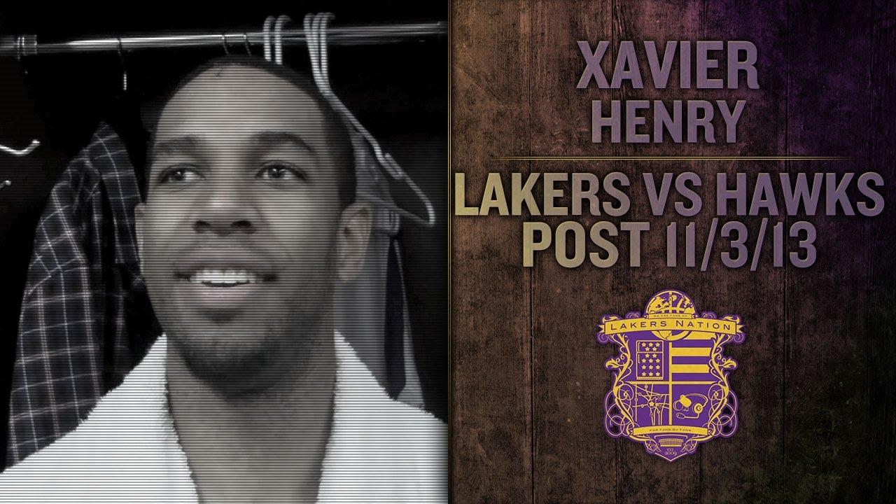 Lakers Vs Hawks: Xavier Henry Leading Scorer In His First Laker Start