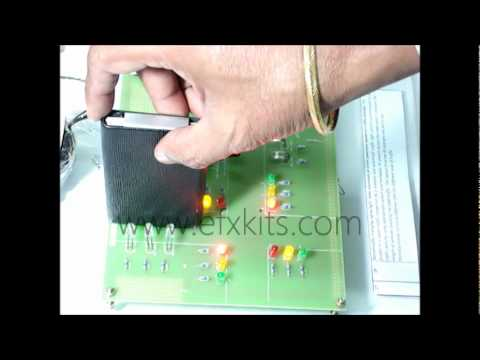 density based traffic light control system engineering projects youtube