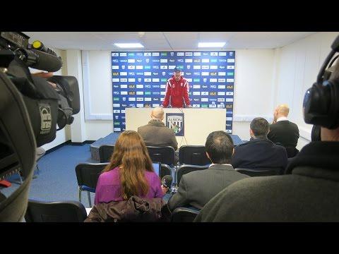 PRESS CONFERENCE | Tony Pulis looks ahead to Albion's Premier League match against Swansea City
