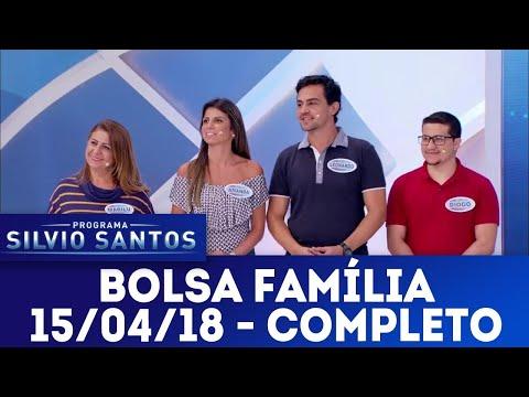 Bolsa Família - Completo | Programa Silvio Santos (15/04/18)