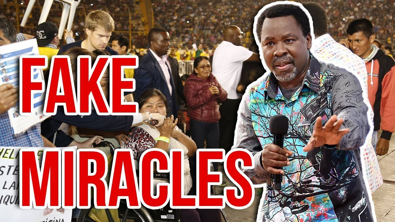 Download TB Joshua Caught Using Witchcraft To Perform Miracles