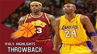 Kobe Bryant vs LeBron James NASTY Duel 2010.01.21 - Kobe With 31 Pts, The king With 37 Pts!