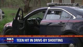 Two teens are recovering after a drive-by shooting in southeast Atl...