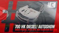 Masser af sort røg en Zenvo og en Audi med 1.400 hk og meget mere