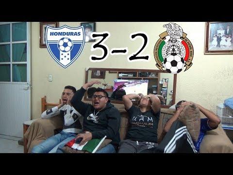 ¡MAL Y DE MALAS! / Honduras vs México (3-2) / Eliminatorias Rusia 2018 / Reacciones