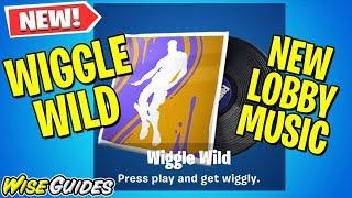 *NEW* LEAKED Wiggle Wild LOBBY MUSIC - Fortnite Season X