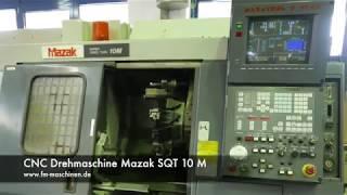 CNC Drehmaschine Mazak SQT 10 M