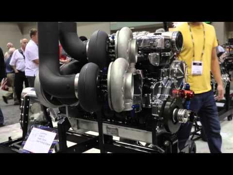 PRI 2015  Haisley Machines 3,000 Horsepower Cummins on Display at ARP