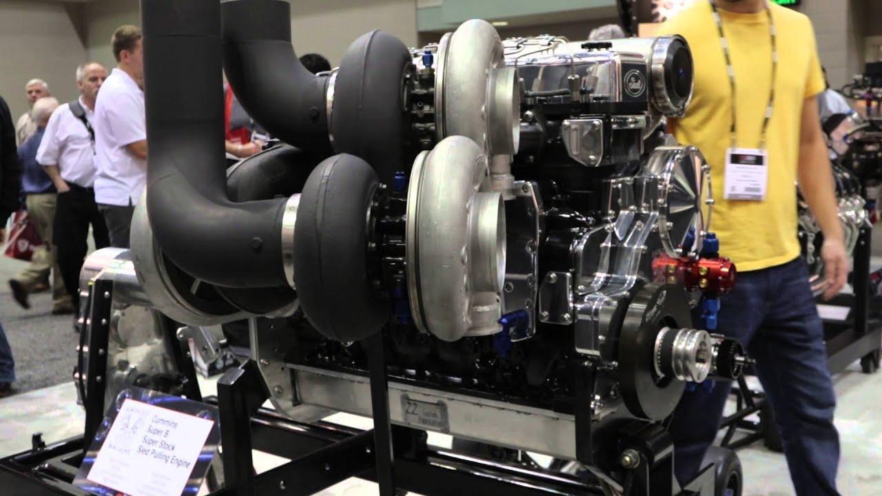 PRI 2015 - Haisley Machine's 3,000 Horsepower Cummins on Display at ARP