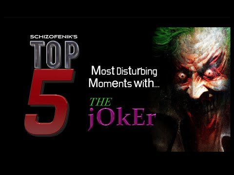 Top 5 Most Disturbing Moments With The Joker