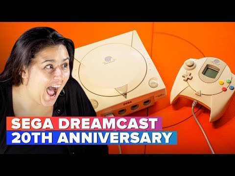Sega Dreamcast's 20th anniversary