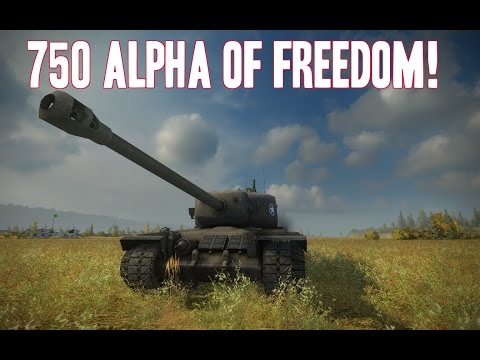 World of Tanks || 750 Alpha of Freedom! || T30 Review