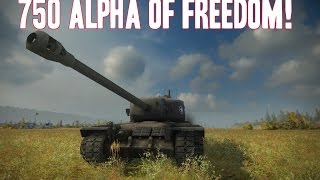 World of Tanks    750 Alpha of Freedom!    T30 Review