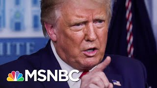 Trump Fights CDC Boss On Mask, Politicizes Covid-19 Vaccine | The 11th Hour | MSNBC