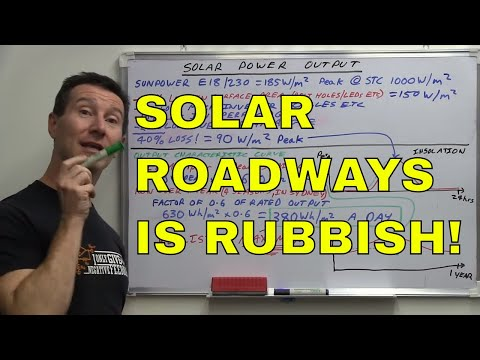EEVblog #632 - Solar Roadways Are BULLSHIT!