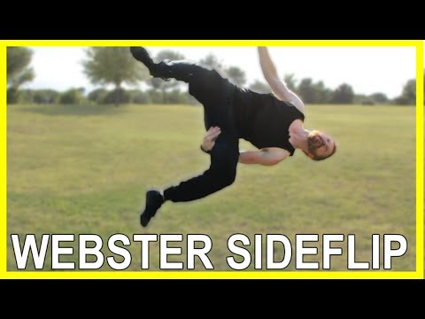 How To Webster Side Flip  Flip Tutorial