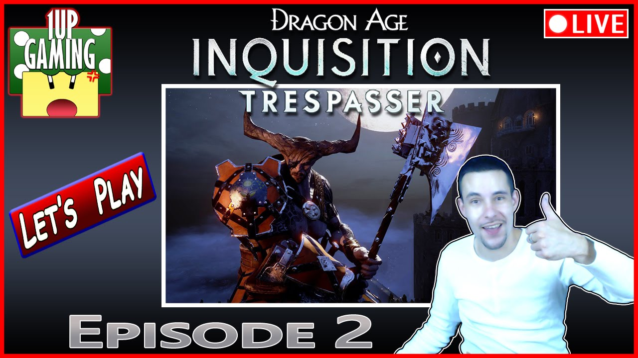 Dragon Age Inquisition: Intrus (DLC 3) - Episode 2 | Let's Play 1080p Gameplay FR - YouTube