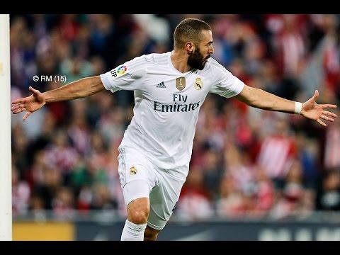 Athletic de Bilbao 1-2 Real Madrid Goles Audio Cope 23/09/15