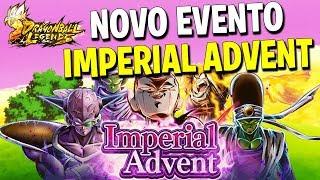 NOVO EVENTO IMPERIAL ADVENT, SERÁ QUE PEGUEI O FREEZA? - Dragon Ball Legends