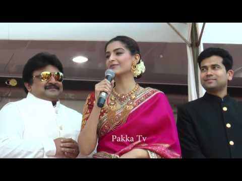 Kalyan Jewellers New Showroom opening function-Sonam Kapoor Speech