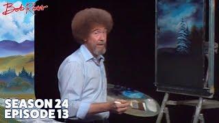 Bob Ross - Snowbound Cabin (Season 24 Episode 13)