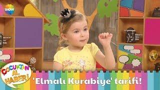 Ebrar'dan lezzetli 'Elmalı Kurabiye' tarifi!
