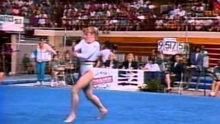 Kim Zmeskal - Floor Exercise - 1992 Phar-Mor U.S. Championships - Women