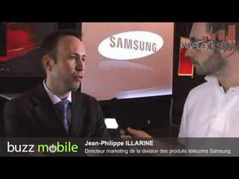 Conférence de presse Samsung : Jean-Philippe Illarine