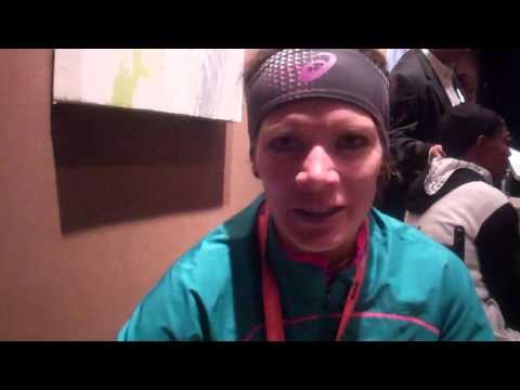 Adriana Nelson After 2013 ING NYC Marathon