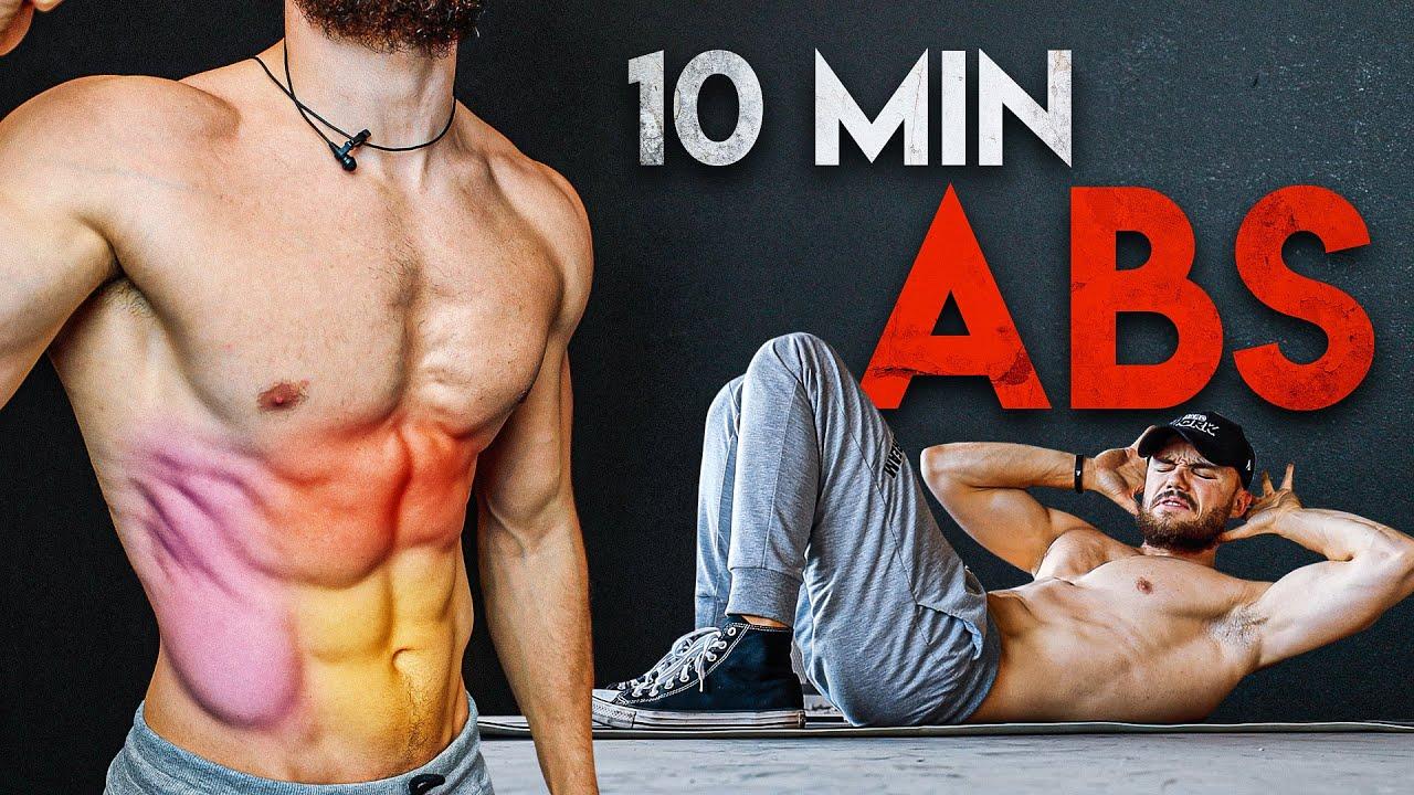 10 MIN ABS WORKOUT | No Equipment Challenge