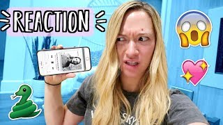 Reacting to Taylor Swifts New Song
