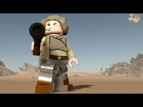 LEGO Star Wars: The Force Awakens - Kaydel Ko Connix | Free Roam Gameplay (PC HD) [1080p]