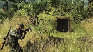 Men of War Vietnam - USA campaign walkthrough - Mission 4 - Die Hard Attack 1/2