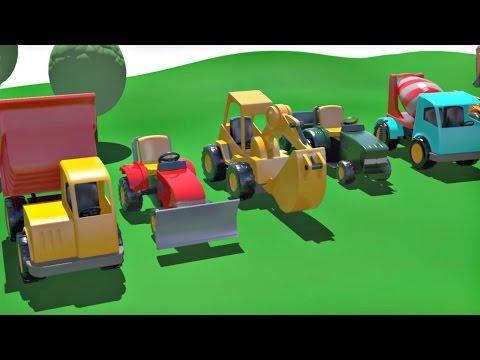 Смотреть мультфильм про машины конструктор