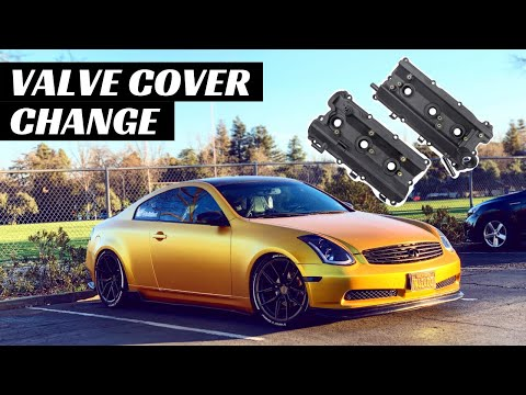 Changed G35 Valve Covers And Now My IDLE Is LOWER Than My GPA