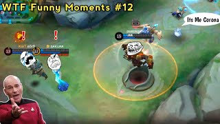 WTF Funny Moments Episode #12   Mobile Legends