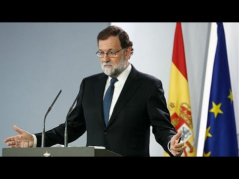 Rajoy says he will sack Catalan government, call regional elections